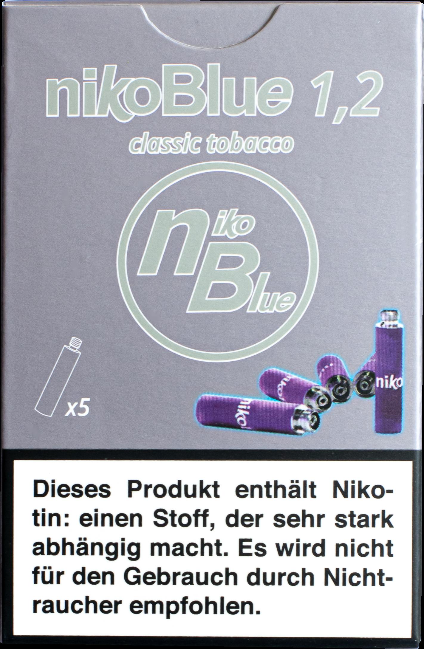 nikoBlue Refill Classic 1,2%