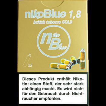 nikoBlue refill gold 1.8% Nikotin